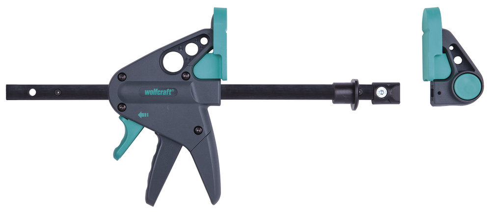Wolfcraft PRO 65-150W jednoruční svěrka k pracovnímu stolu 3036000