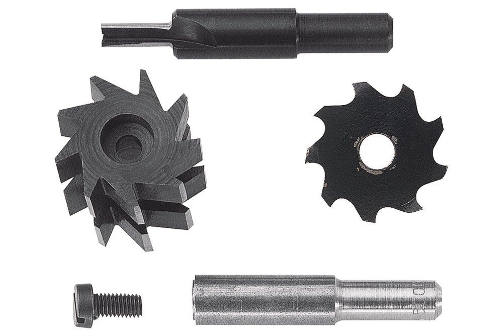 Wolfcraft Wolfcraft Sada fréz 3259+61+35+stopka 8 mm 3254000