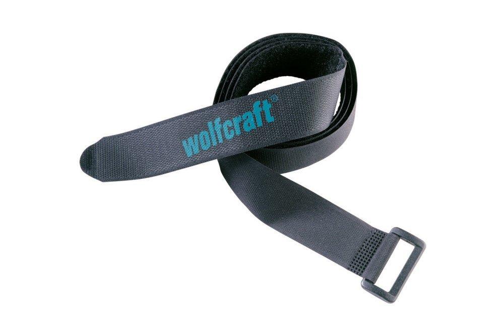 Wolfcraft Wolfcraft 2x pásky na suchý zip 30x1200mm 3009000