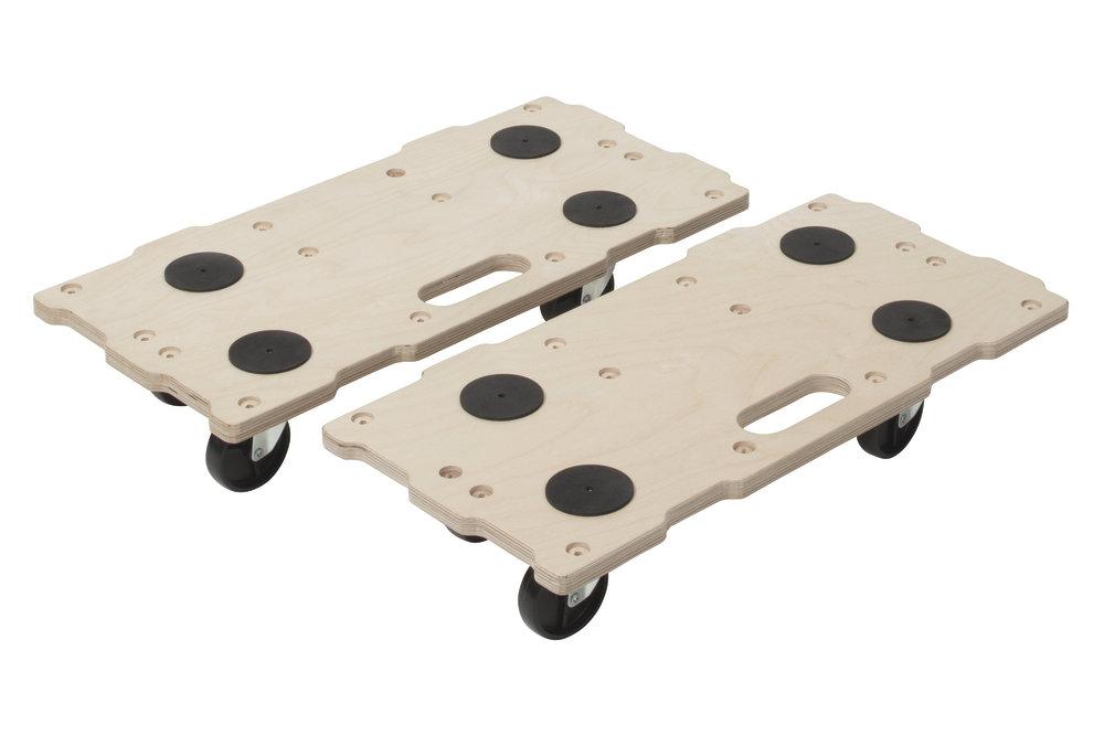 Wolfcraft  2 x FT 400 - stěhovací vozík Puzzle Boards 5543000