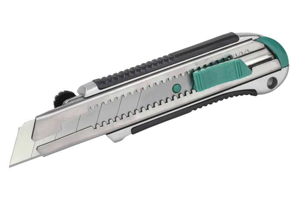 Wolfcraft Wolfcraft Profi nůž s odlamovací čepelí 2C - 25mm