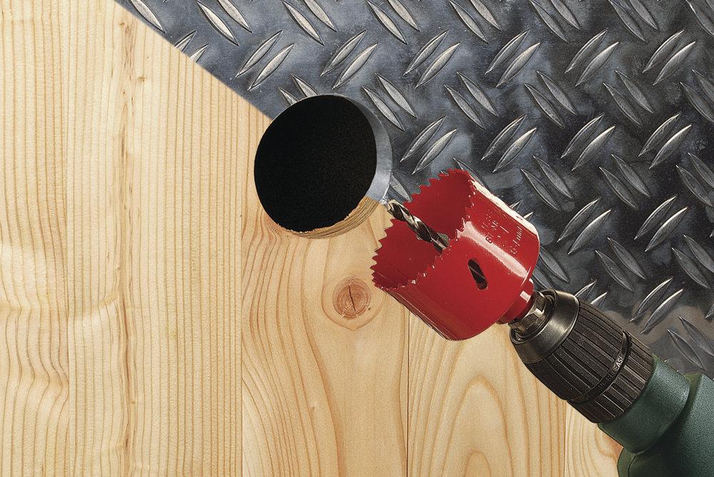 Wolfcraft Wolcraft bi-metalová děrovka ø76 5494000