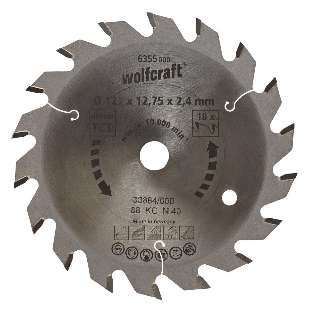 Wolfcraft Wolfcraft pilový kotouč středně hrubé řezy ø210x30 Z30 6381000