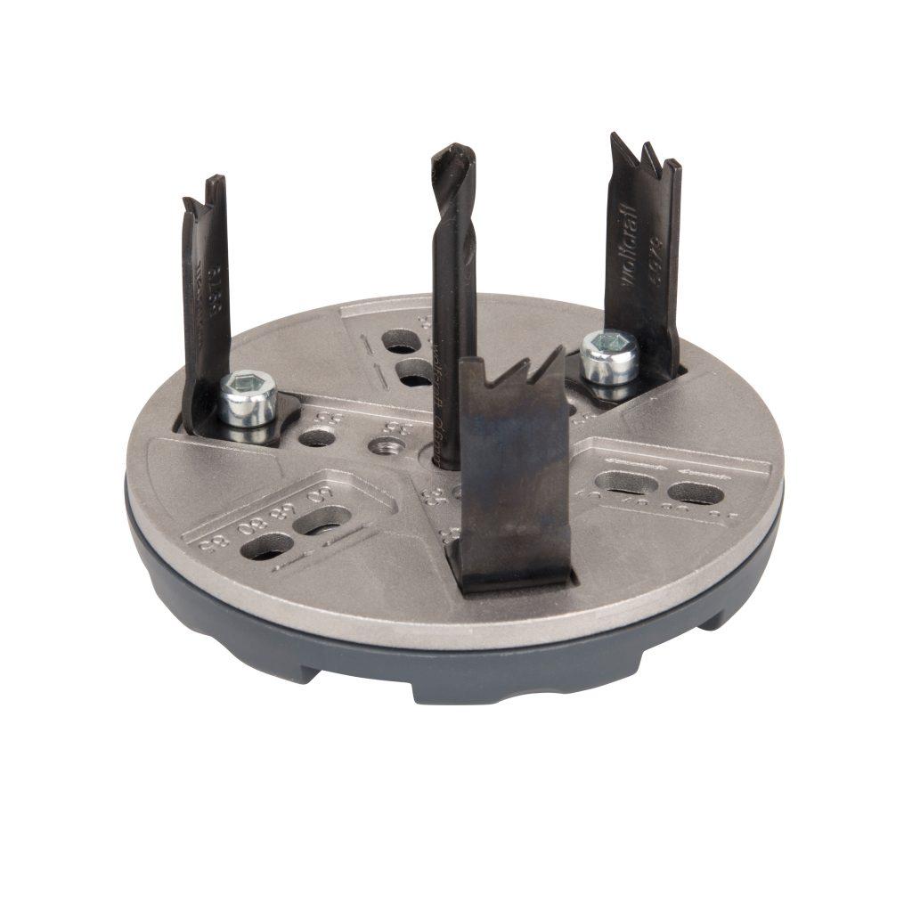 Wolfcraft Wolfcraft nastavitelná děrovka pro elektromontáže 35-83 mm 5983000