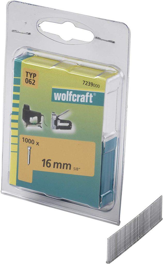 Wolfcraft Wolfcraft Hřebíky délka 16 mm 1000 ks 7239000