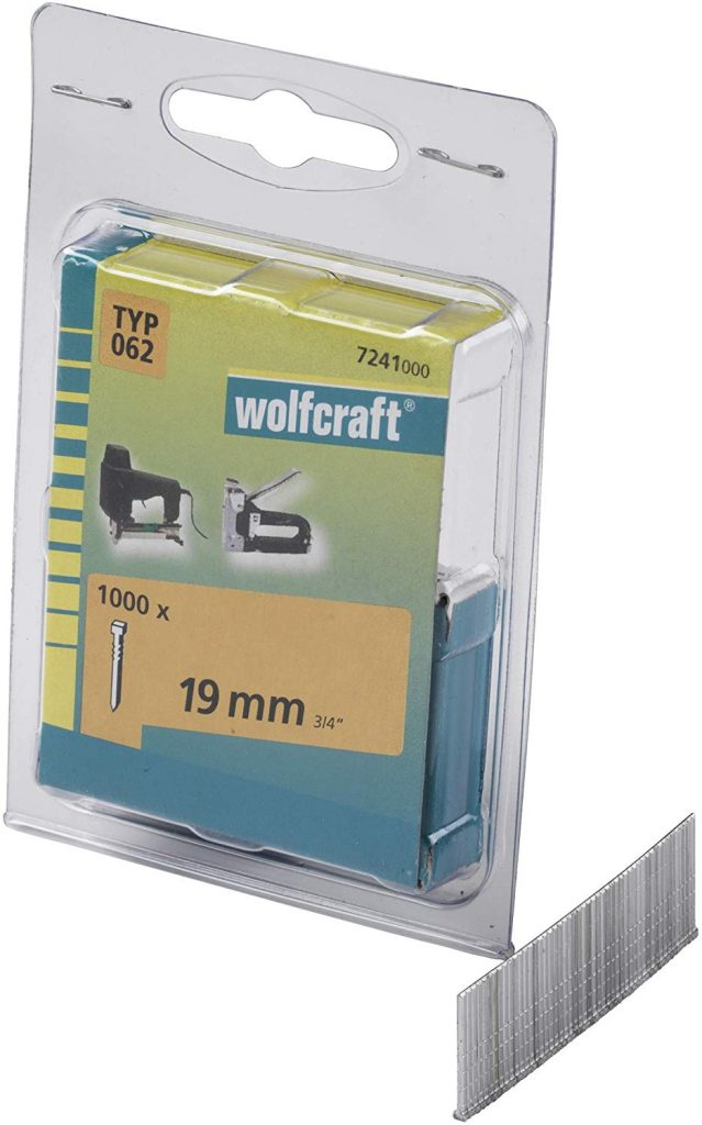 Wolfcraft Wolfcraft Hřebíky délka 19 mm 1000 ks 7241000