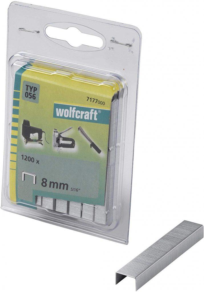 Wolfcraft Wolfcraft Úzké sponky do sponkovačky výška 30 mm 1000 ks  7173000
