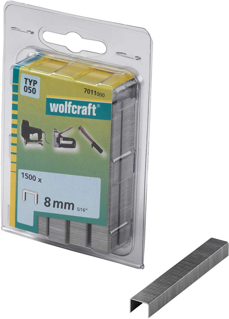 Wolfcraft Wolfcraft Široké sponky do sponkovačky výška 8 mm 1400 ks  7011000