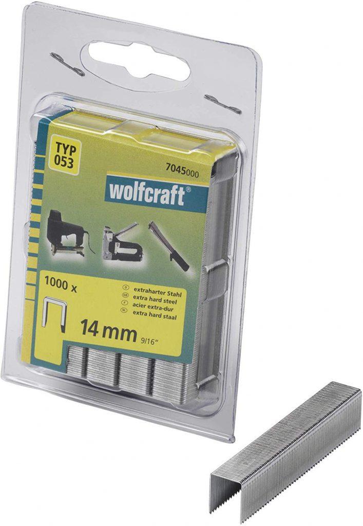 Wolfcraft Wolfcraft Široké sponky do sponkovačky výška 14 mm 1000 ks  7045000