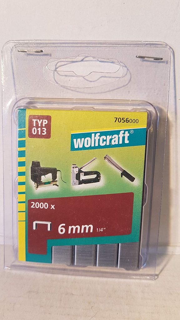 Wolfcraft Wolfcraft Široké sponky do sponkovačky výška 6 mm 2000 ks  7056000